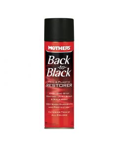 Mothers Back to Black Trim & Plastic Restorer Aerosol