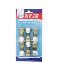 "1/2"" UNF x 41mm Wheel Studs and Nuts"