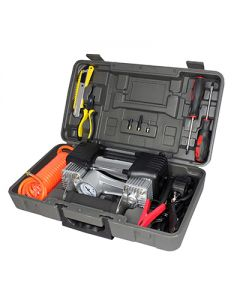 Air Attack Portable Compressor Kit Dual Cylinder