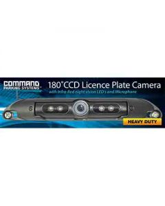 Rear Heavy Duty Licence Plate Mount Camera