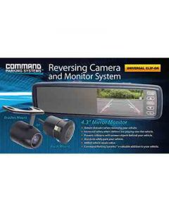Clip on Mirror Monitor and Camera Pack