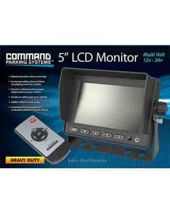Rear Heavy Duty 5 Inch Monitor